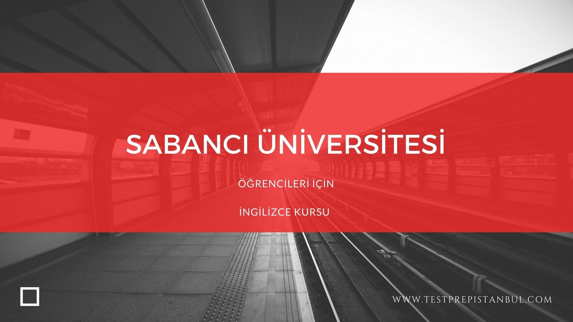 testprep sabancı üniversitesi ingilizce kursu