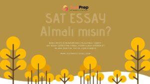kimler sat essay alamalı? Sat essay almalı mıyım?