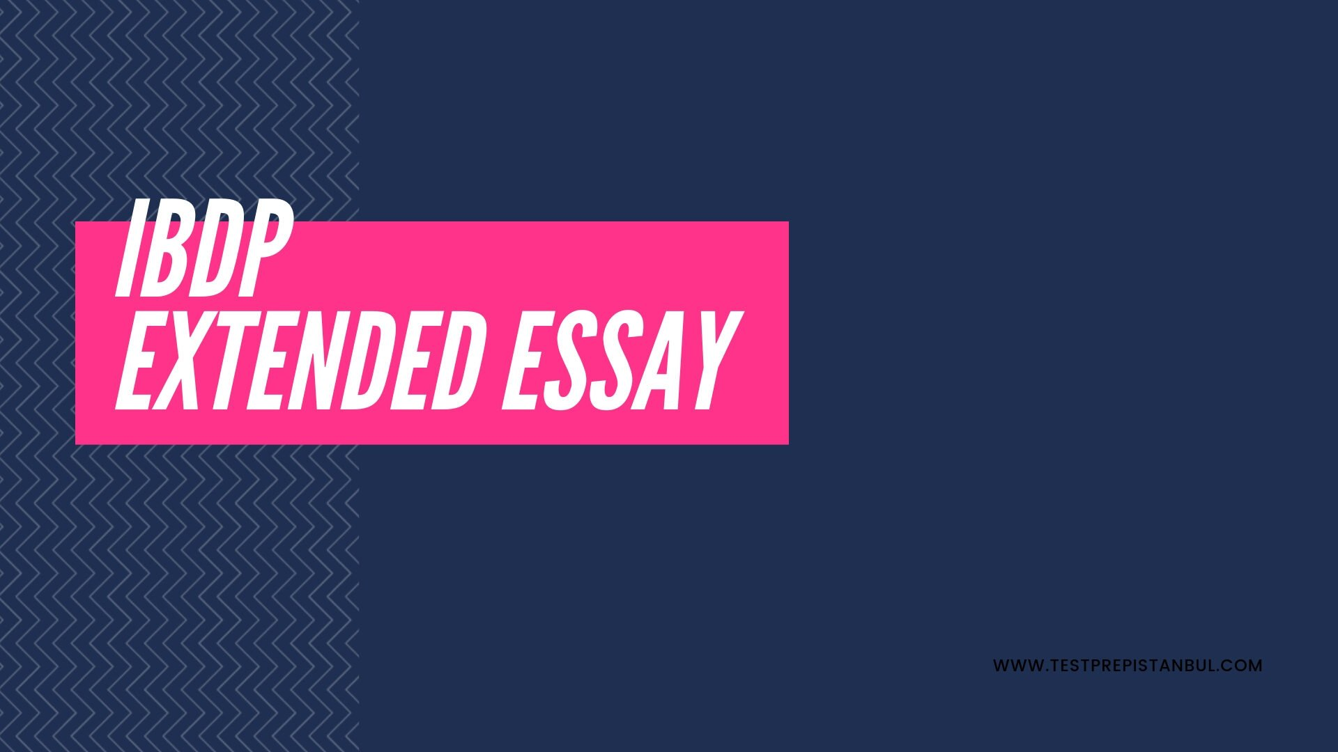 ibdp extended essay is it necessary?